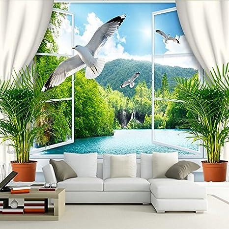 Carta Da Parati In 3d.Lhdlily 3d Carta Da Parati Sfondi Wallpaper Murale Murala Mural