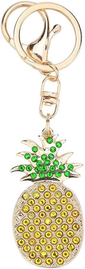 Injoyser Diamond Painting Stickers Keychains Kits for Art Craft Key Ring Phone Charm Bag Decor Pineapple 1 Pcs by INJOYS