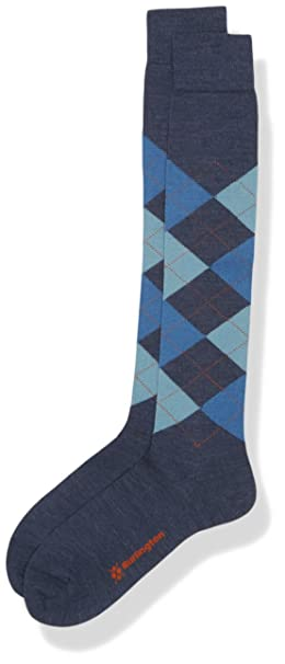 Burlington Edinburgh, Calcetines para Hombre, Azul (Darkblue 6697), 40/46