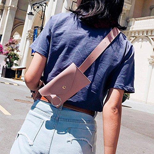 petto anello L 1 H moda cuoio borsa 17 compatto Rosa femminile 11 colore cm squisito messaggero puro L e cm Rosa Oliviavan al borsa cm zqvpCww