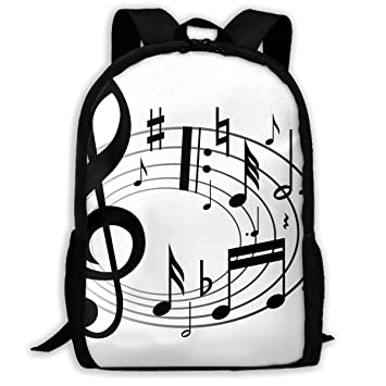 Amazon Com Backpack Music Notes Clipart Womens School Campus