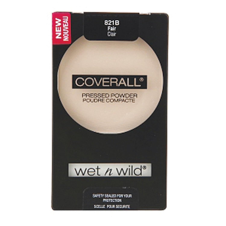 WET N WILD Coverall Pressed Powder - Fair B00BGFVORQ