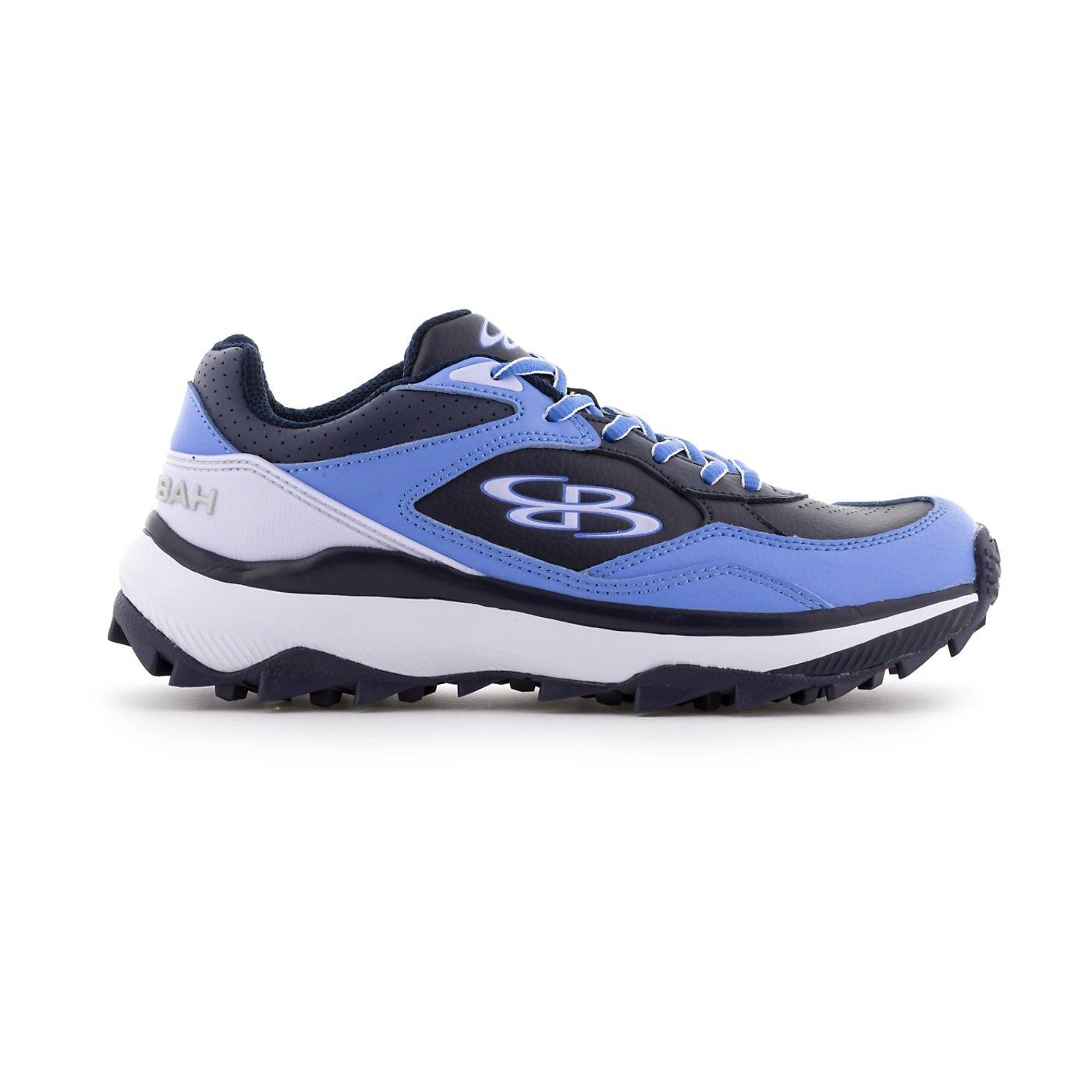 BoombahレディースEndura Turf Shoes – 11カラーオプション – 複数のサイズ B079MFLVNL 10|Navy/Columbia Navy/Columbia 10