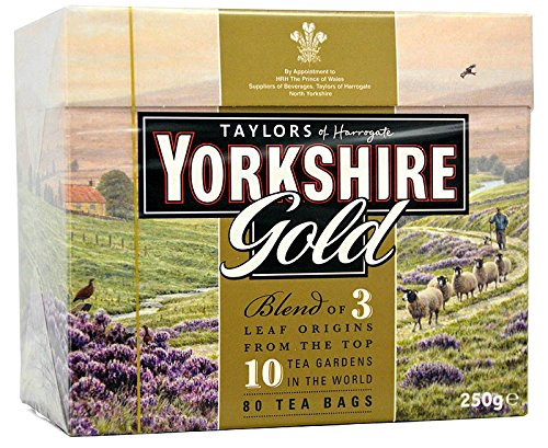 Yorkshire Tea Gold 80 Beutel - 250 g