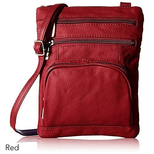 Handbags Leather Crossbody Handbags Women Leather Small for Soft Wine Leather with Genuine xqrrdAY1