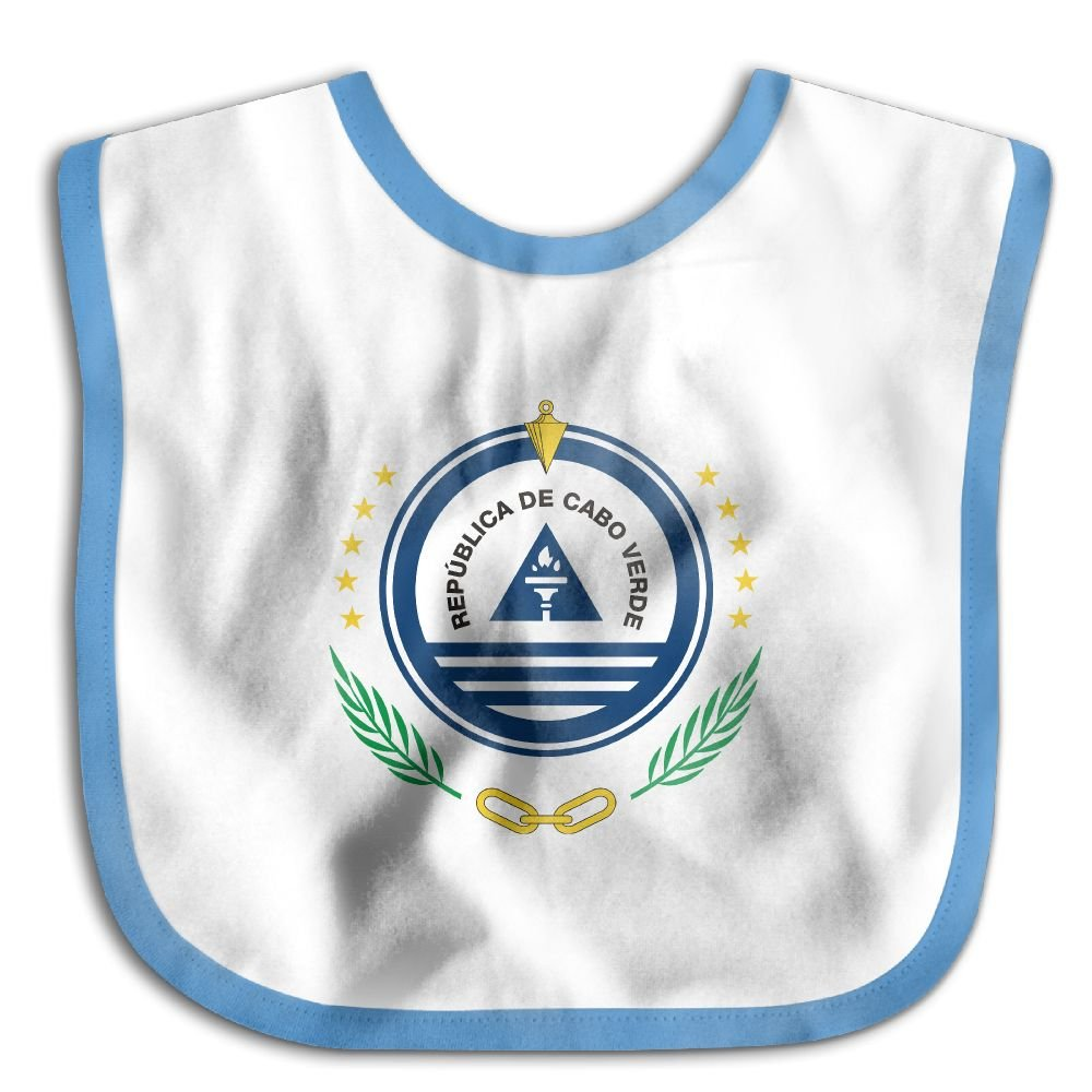 Marima Coat of Arms of Cape Verde Personalized Scarf Bib Feeding /& Teething Fancy Baby Bibs and Burp Cloth Polyester Cotton