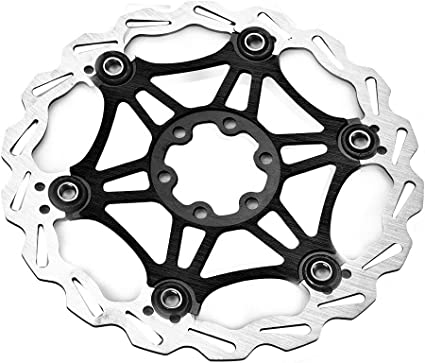 Stainsteel Bike Floating Brake Disc Pad 160mm Brake Pad Rotors Cycling Parts