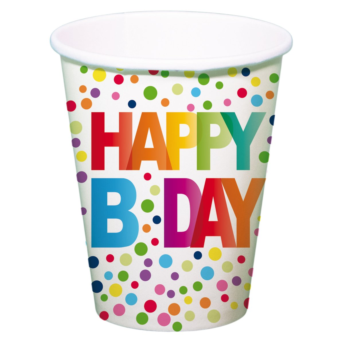 Festone multicolore - serie: Happy B Day - decorazione compleanno Folat