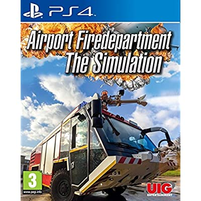 Airport Firedepartment The Simulation (PS4)
