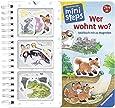 Wer wohnt wo?: Mein großes Spielbuch mit 22 Magneten Ab 24 Monaten (ministeps Bücher)