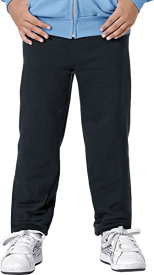 50e741268565 Amazon.com: Hanes P450 Youth EcoSmart Fleece Pant: Clothing