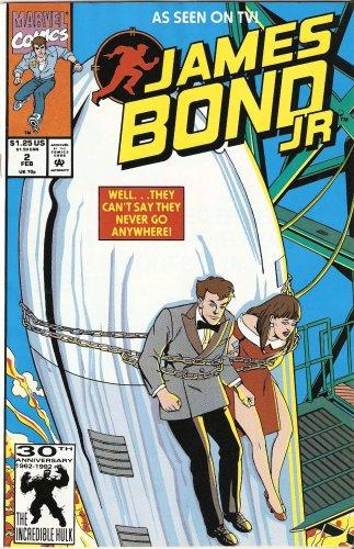 James Bond Jr. #2 February 1992