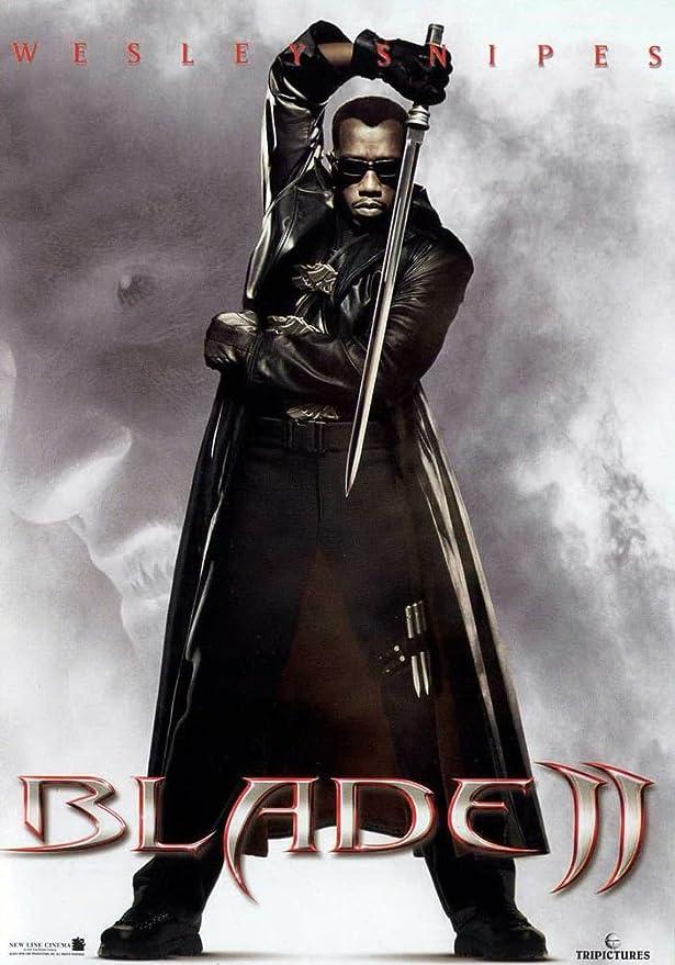 Amazon.com: Blade II (24x34 inch, 60x86 cm) Silk Poster PJ1A-187D: Posters  & Prints
