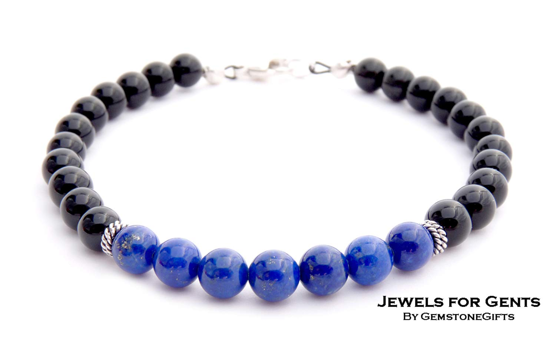 Lapis Bracelet Homme Chakra Bracelet Femme Lapis Lazuli Bracelet Bracelets for Women Unisex Bracelet Pierre Mens Bracelet Men Bracelet