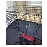 AnimalExercisePen with Door Indoor Heavy Duty Dog Yard PetFence Folding Cage Portable Playpen & eBook by OISTRIA