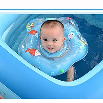 Baby swimmer baby swim safety adjustable double airbag collar ring ...