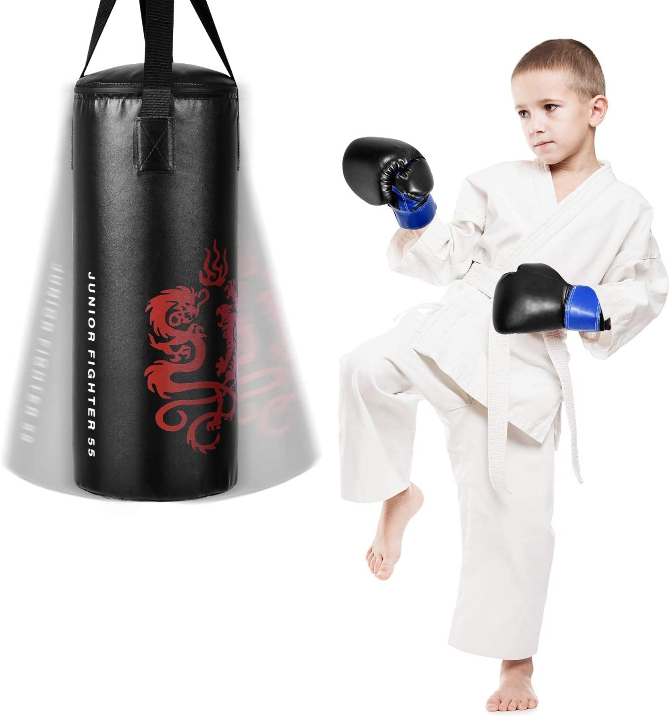 Heavy Duty Free Standing Boxing Punch Bag Training Indoor Sport Kick Art UFC
