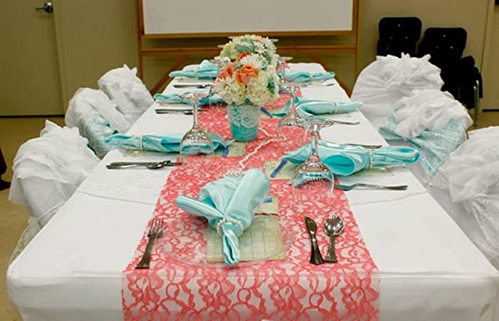 16 Tiffany Blue Satin Napkins For Dinner Party Birthday Bridal Or Baby Shower Wedding