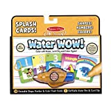 Melissa & Doug Water Wow! Splash Cards Shapes, Numbers & Colors by Melissa & Doug