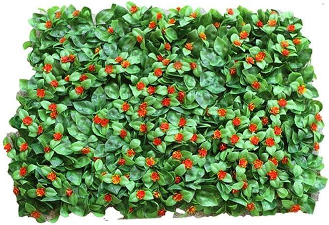Xiaolin Pared De Setos De Hoja Artificial, Hiedra Artificial, Fondo De Jardín, Cerca De Privacidad, Panel De Pantalla De 15.7