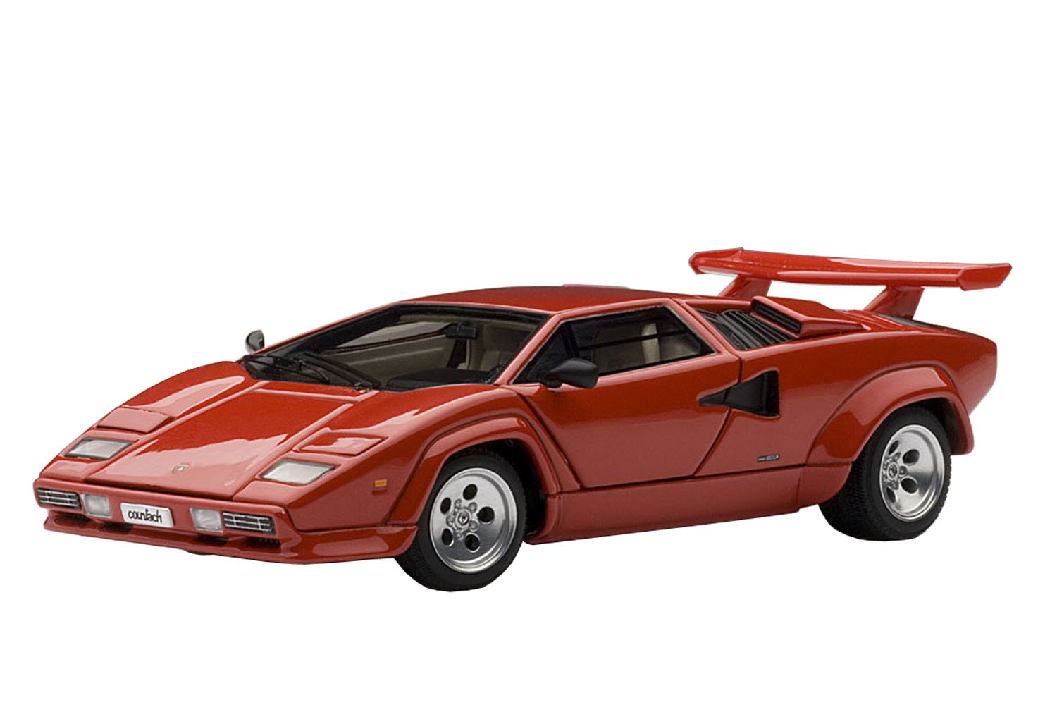 AUTOart 1/43 Lamborghini Countach 5000S (Red) [Toy] (japan import)