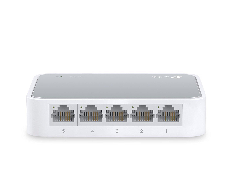 Amazon.com: TP-Link 5 Port Fast Ethernet Switch | Desktop Ethernet ...