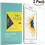 2 Pack iPhone 6 / 6s Panzerglas Schutzfolie Premium Bildschirmschutz aus gehärtetem Glas für iPhone 6 iPhone 6s ( 4,7 Zoll )