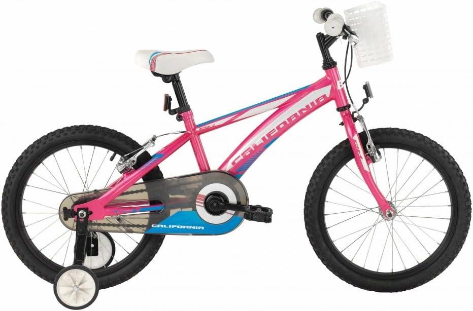 BH CALIFORNIA Bicicleta de niña 18 pulgadas 1s de 2016: Amazon.es ...