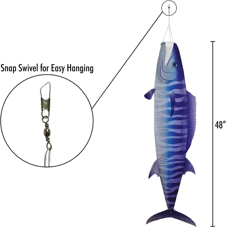 Breeze In The Windsack Fish 48 Inches 121,9 cm Dorado