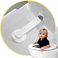 Baby Toilet Lock (2 Pack) for Child Safety, Baby Proof Toilet Seat Lock with 2 Extra Pallet Fit for Most Standard Toilet…