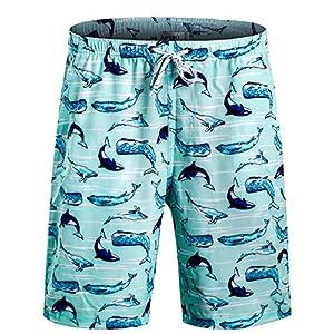APTRO Men's Swim Trunks with Pockets Quick Dry 4 Way Stretch Shorts