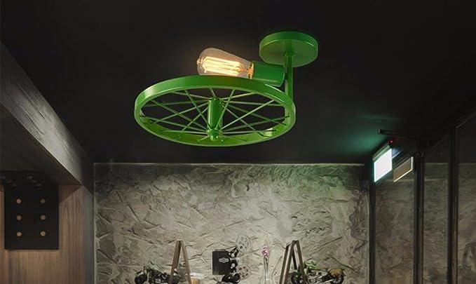Plafoniere Soffitto Industriale : Gzlight plafoniera moderno led lampada da soffitto retrò aria