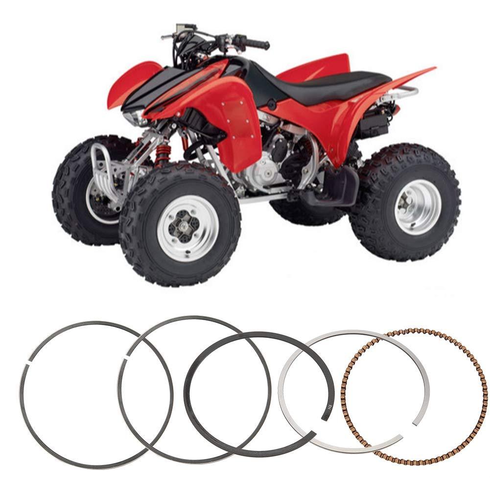 Gorgeri 74mm Piston Ring for Honda TRX300EX Sportrax Fourtrax Aluminum Alloy Piston Rings Assembly Kit