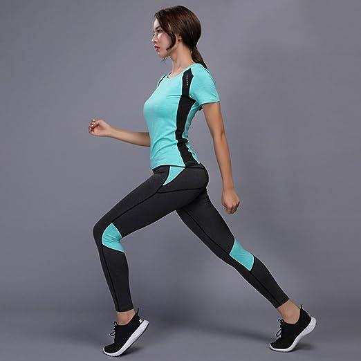 Huoduoduo® Conjunto De Yoga Para Mujeres Gym Fitness Clothes ...