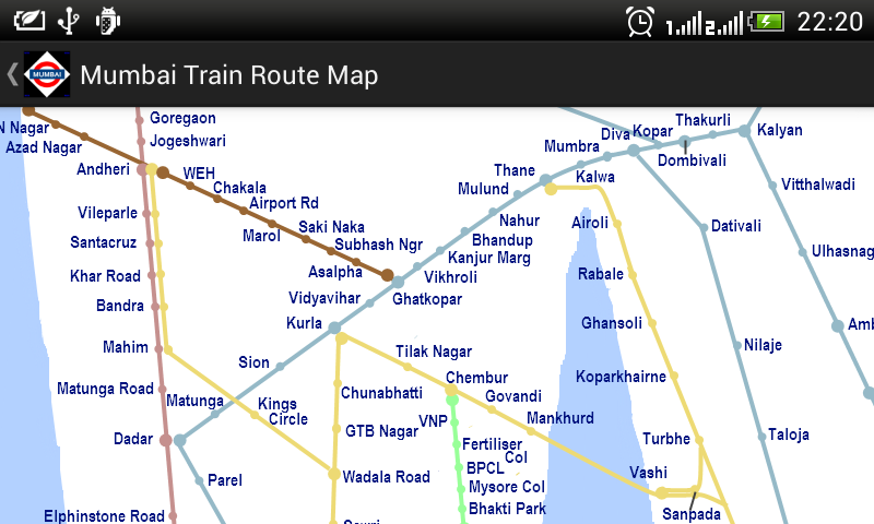 Train Route Map Between Two Stations Amazon.com: Mumbai Local Train Timetable: Appstore for Android