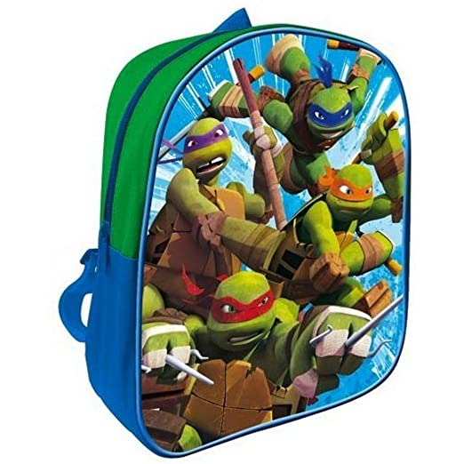 GUIZMAX mochila Tortuga Ninja Disney Niño Escuela: Amazon.es ...
