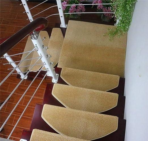 wcwwfn Alfombra de Goma Antideslizante Escalera colchón colchón ...