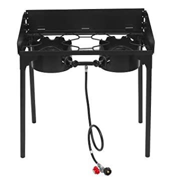 Amazing Ancheer Single Burner Propane Cooker | 21000 BTU Outdoor Camping Stove With  0 20