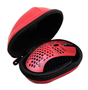 Casematix Gaming Mouse Travel Case Compatible with Final Mouse Air58 Ninja with Water Resistant Protective Design