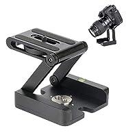 Buwico® Aluminium Stabile Falt kamera Z Tischständerhalter Stativ Flex Pan & Tilt Kugelkopf