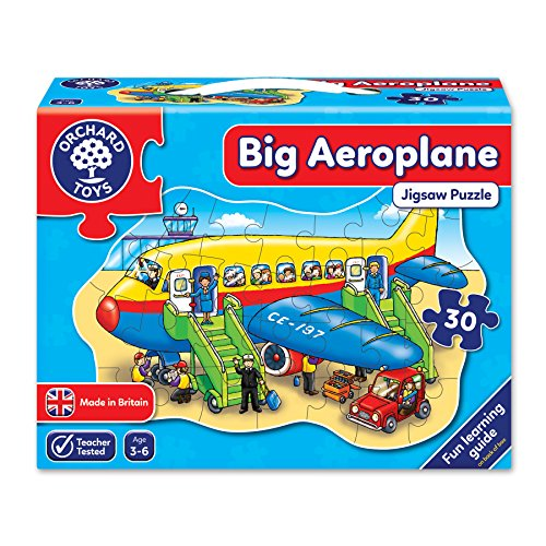 Puzzle Plane - Big Aero plane Shaped Floor Puzzle