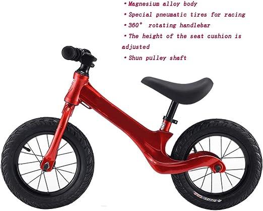 YUMEIGE Bicicletas sin Pedales Nivel de la Competencia Equilibrio ...