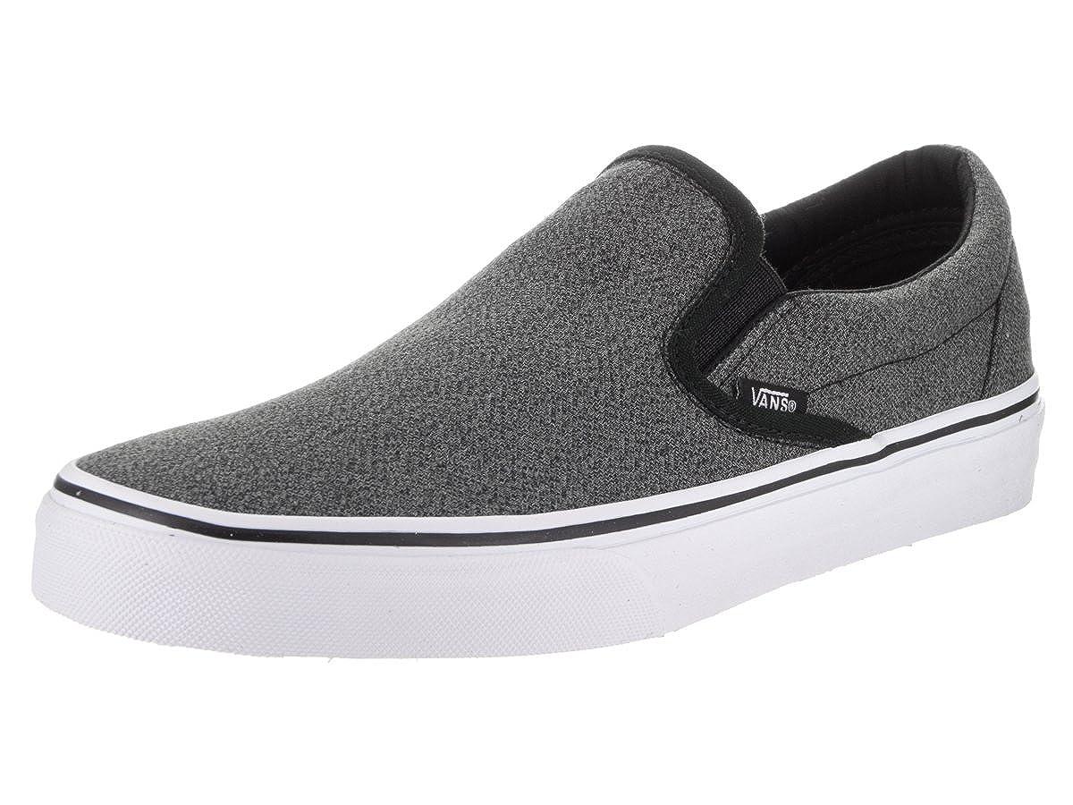 98d322cb3f Vans Men s Suiting Classic Slip-on Shoes Black True White 11.5 M US Women    10 M US Men  Amazon.in  Shoes   Handbags