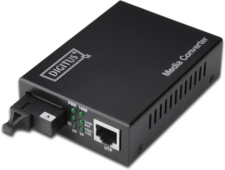 Digitus Wdm Medienkonverter Singlemode Gbit Computer Zubehör