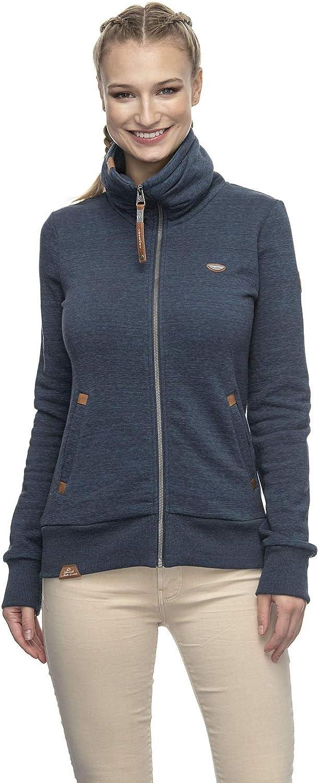 Color Azul Ragwear 2011-30036 Rylie Zip Cremallera para Mujer