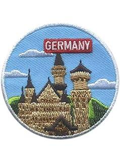 GERMANY LANDMARK Iron On Patch German