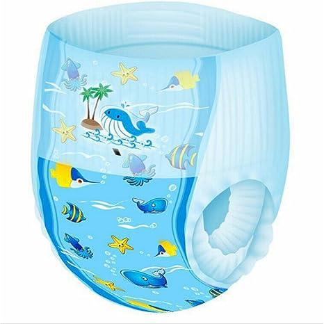 6 PCS Pequeños Reutilizables Nadadores,GZQES,Pañales para Bebé de natación impermeable,Color Azar: Amazon.es: Bebé