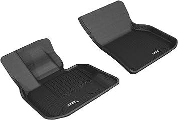 Classic Carpet 3D MAXpider Second Row Custom Fit Floor Mat for Select BMW X3 Models Gray