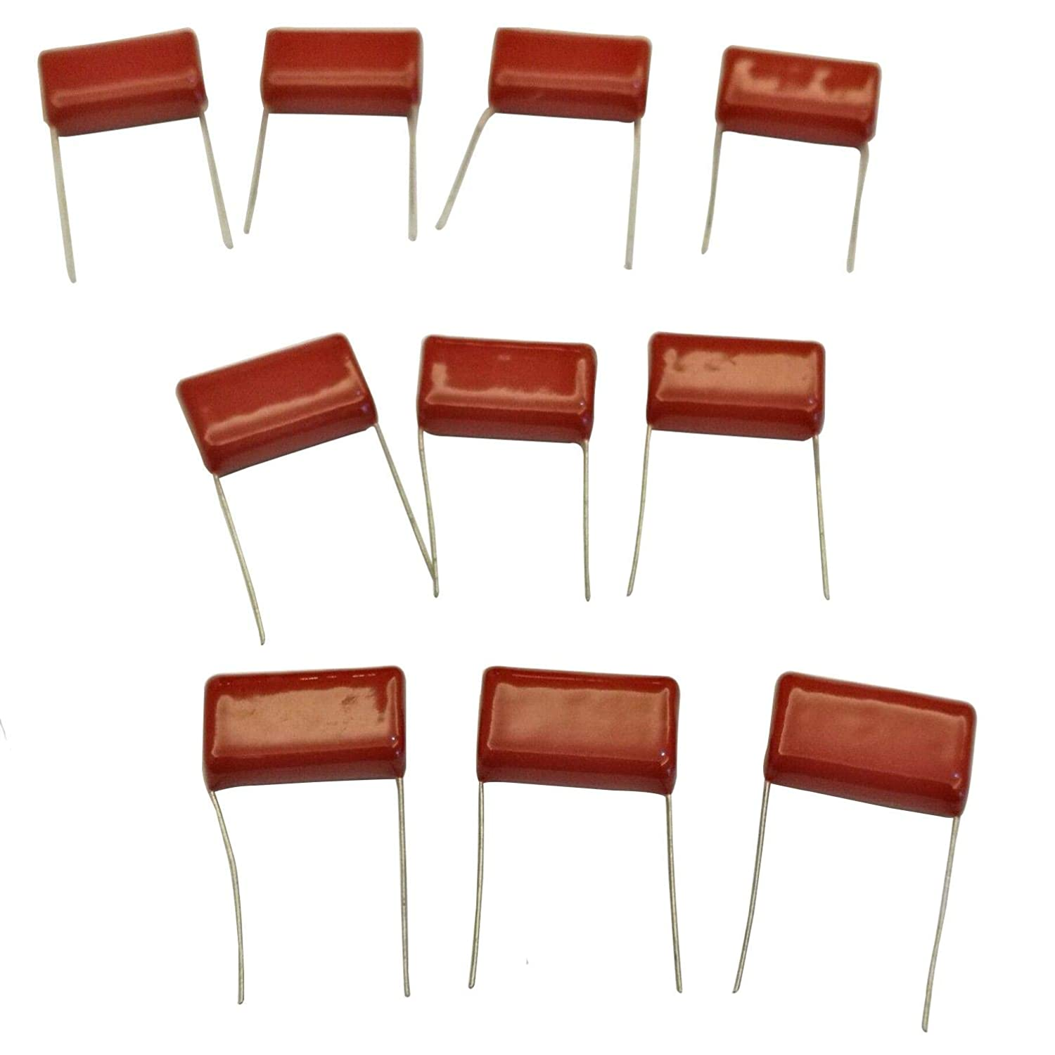 uxcell CBB21 Metallized Polypropylene Film Capacitors 400V 1uF for Electric Circuits Energy Saving Lamps Pack of 20