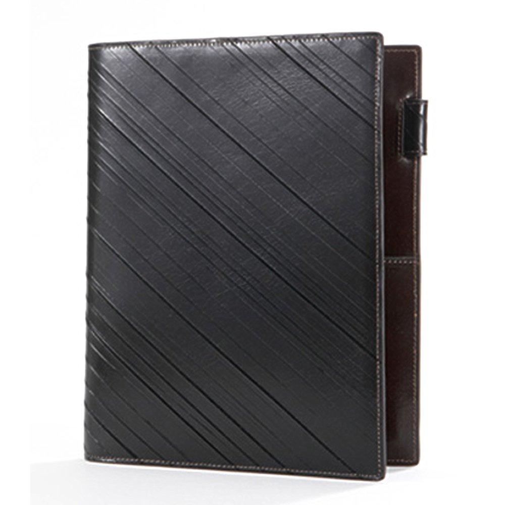 ASHFORD 手帳 A5 スカーフェイス 15mm ダークブラウン 3081-012   B00UVJ06V8